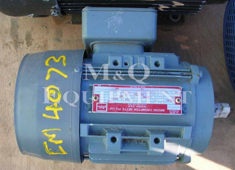1.1 KW / BROOK / Electric Motor