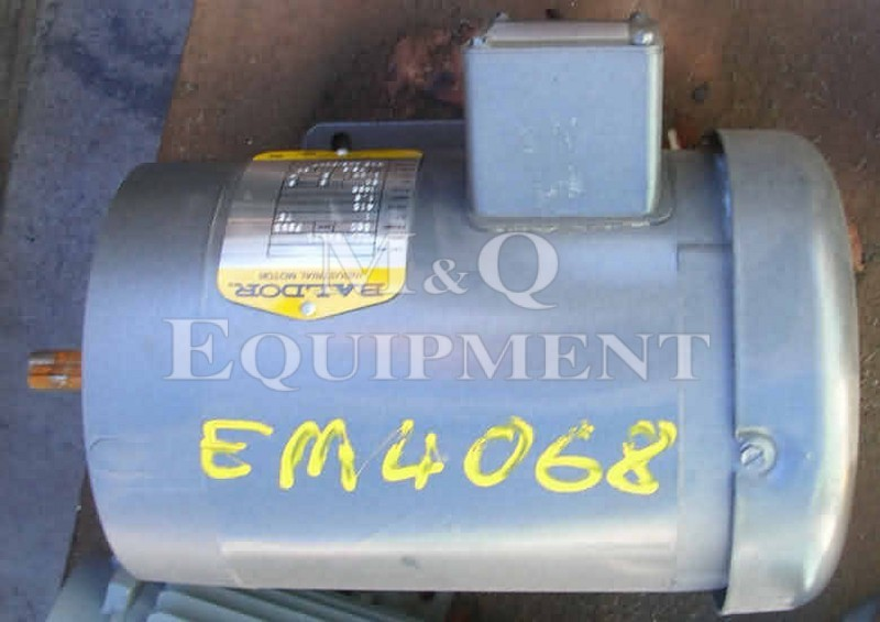 .75 KW / BALDOR / Electric Motor