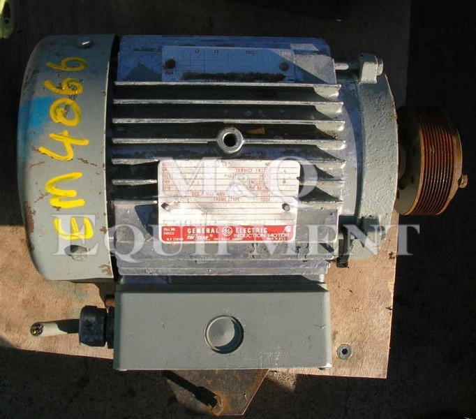 .75 KW / G.E. / Electric Motor