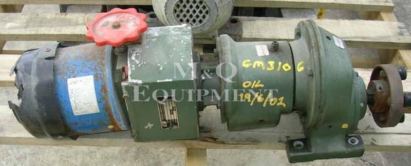 .37 KW / C & H / Gear Motor