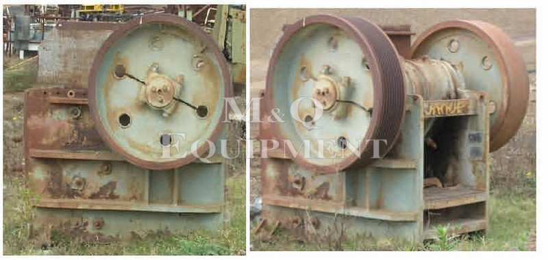"30"" x 20"" / Jaques / Jaw Crusher"
