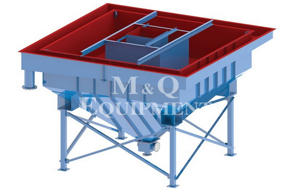 6000 x 6000 / M & Q Equipment / Density Bin