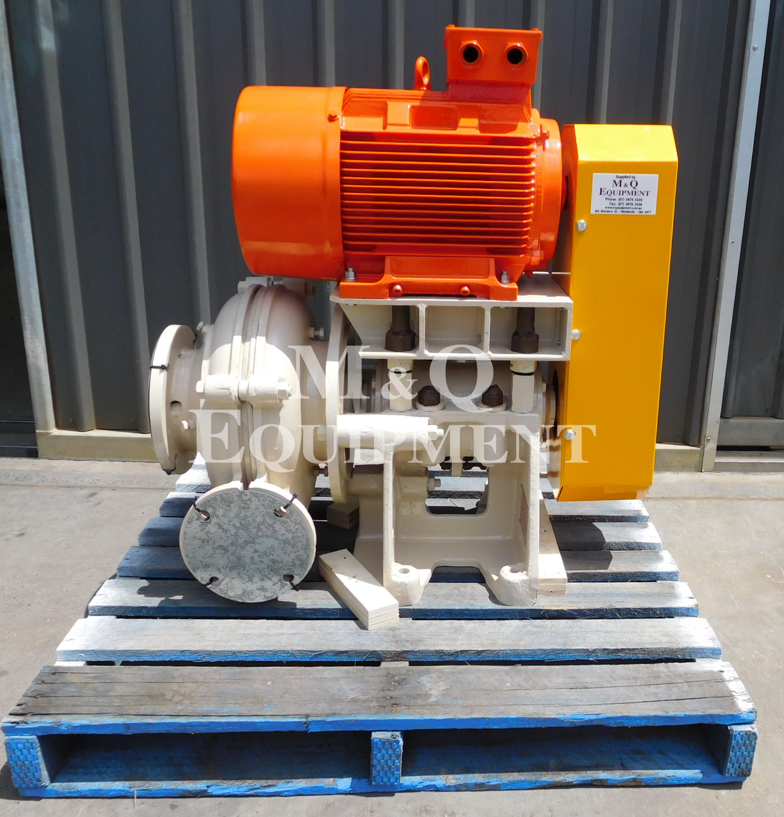 Sold Item 461 - Rebuilt 6/4 DSC Warman Pump