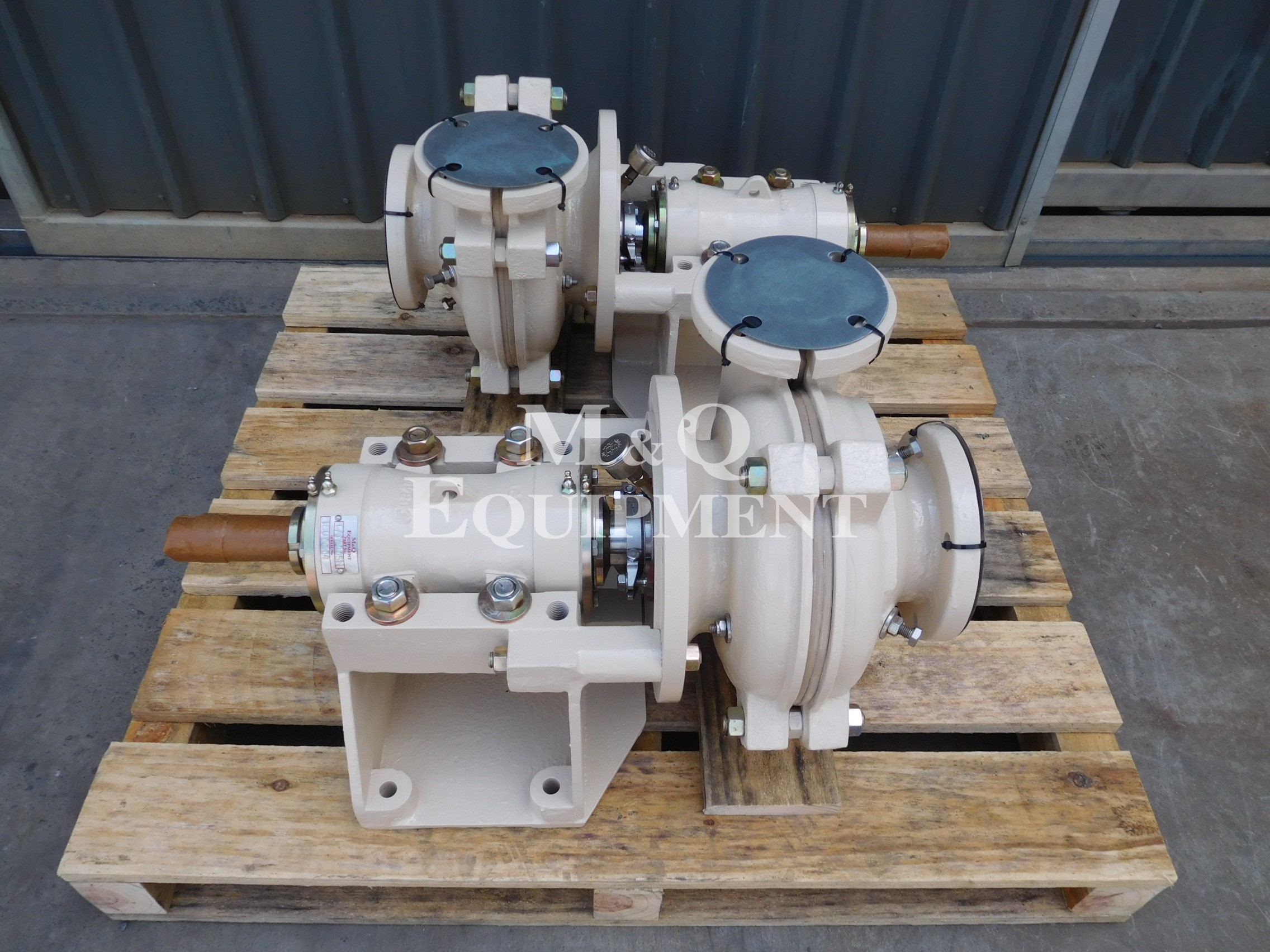 Sold Item 467 - New 4/3 CSC Austral Pumps