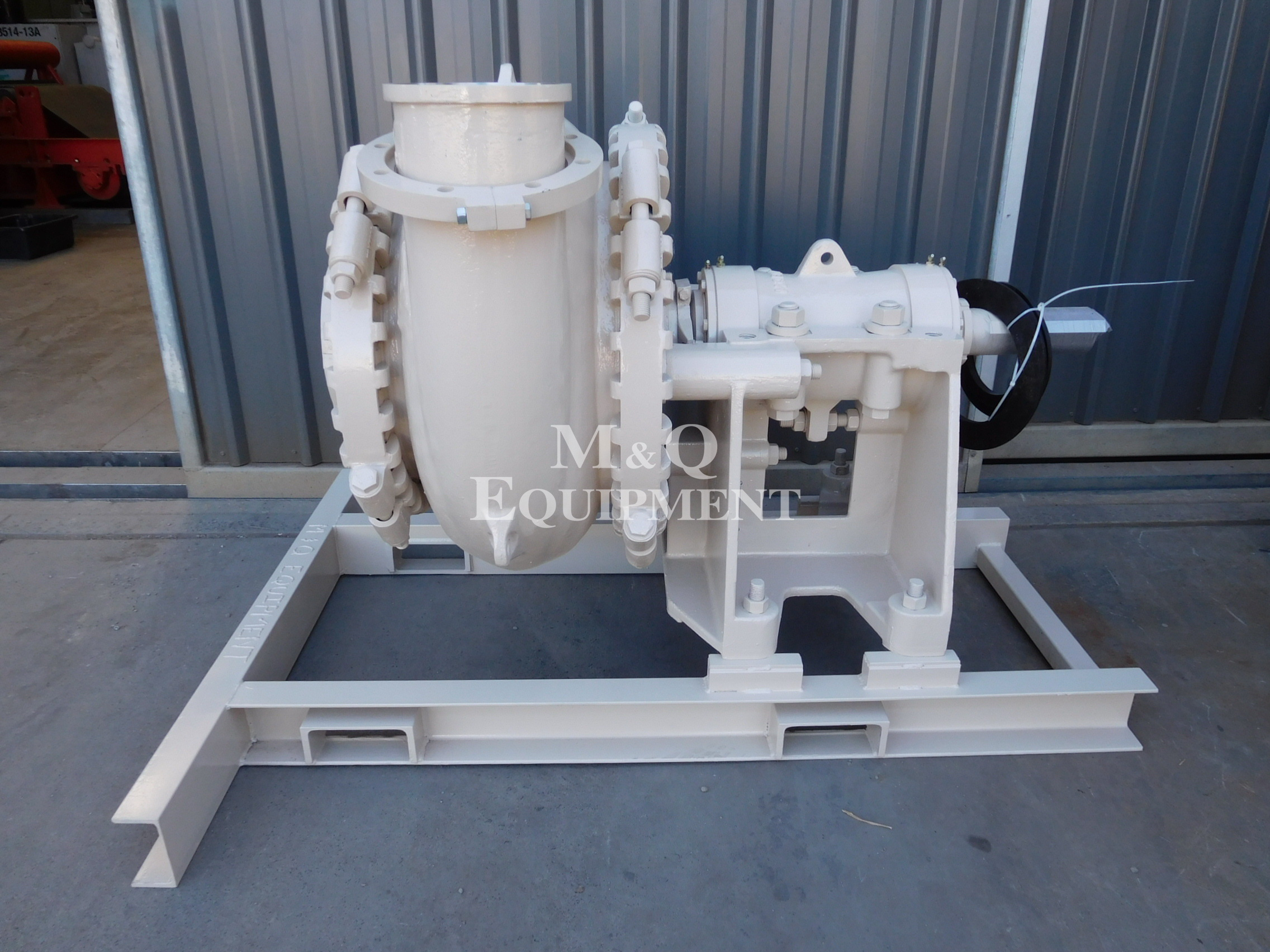 Sold Item 507 - 8/6 EG Austral Dredge Pump