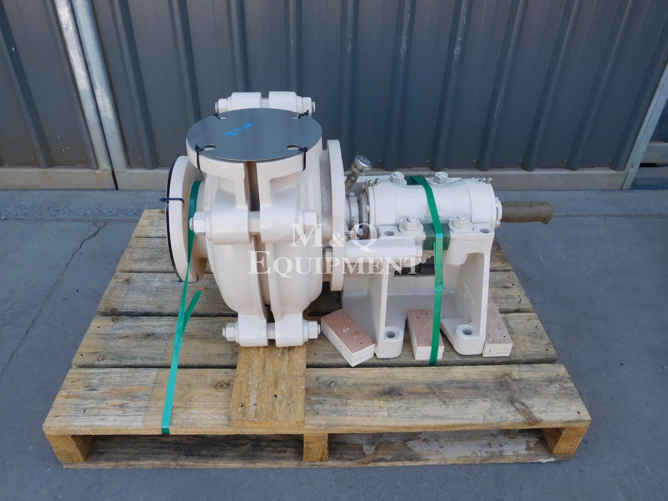 Sold Item 505 - 4/3 CAH Warman Pump (Fully Rebuilt)