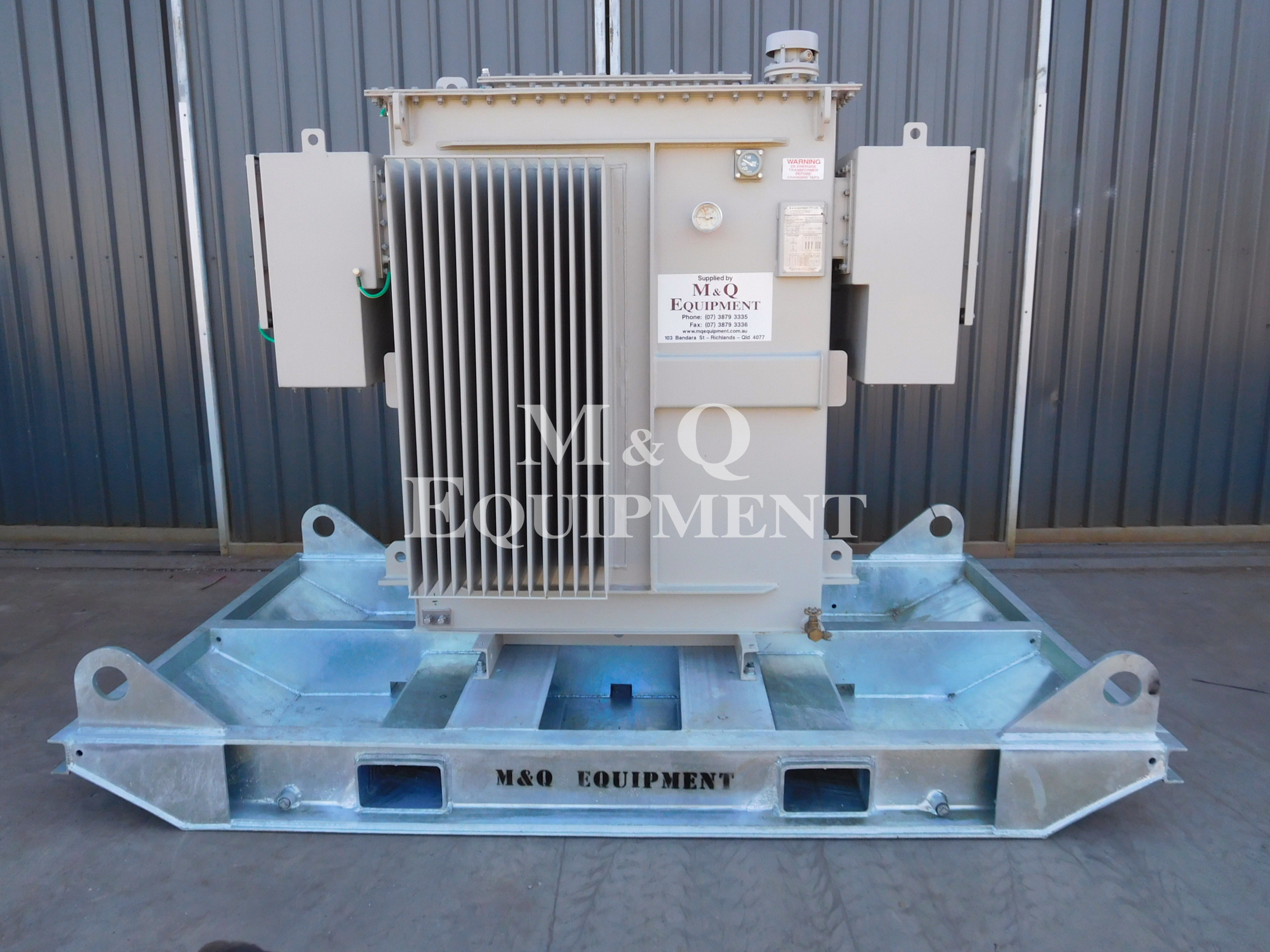 Sold Item 492 - 1000 KVA Transformer