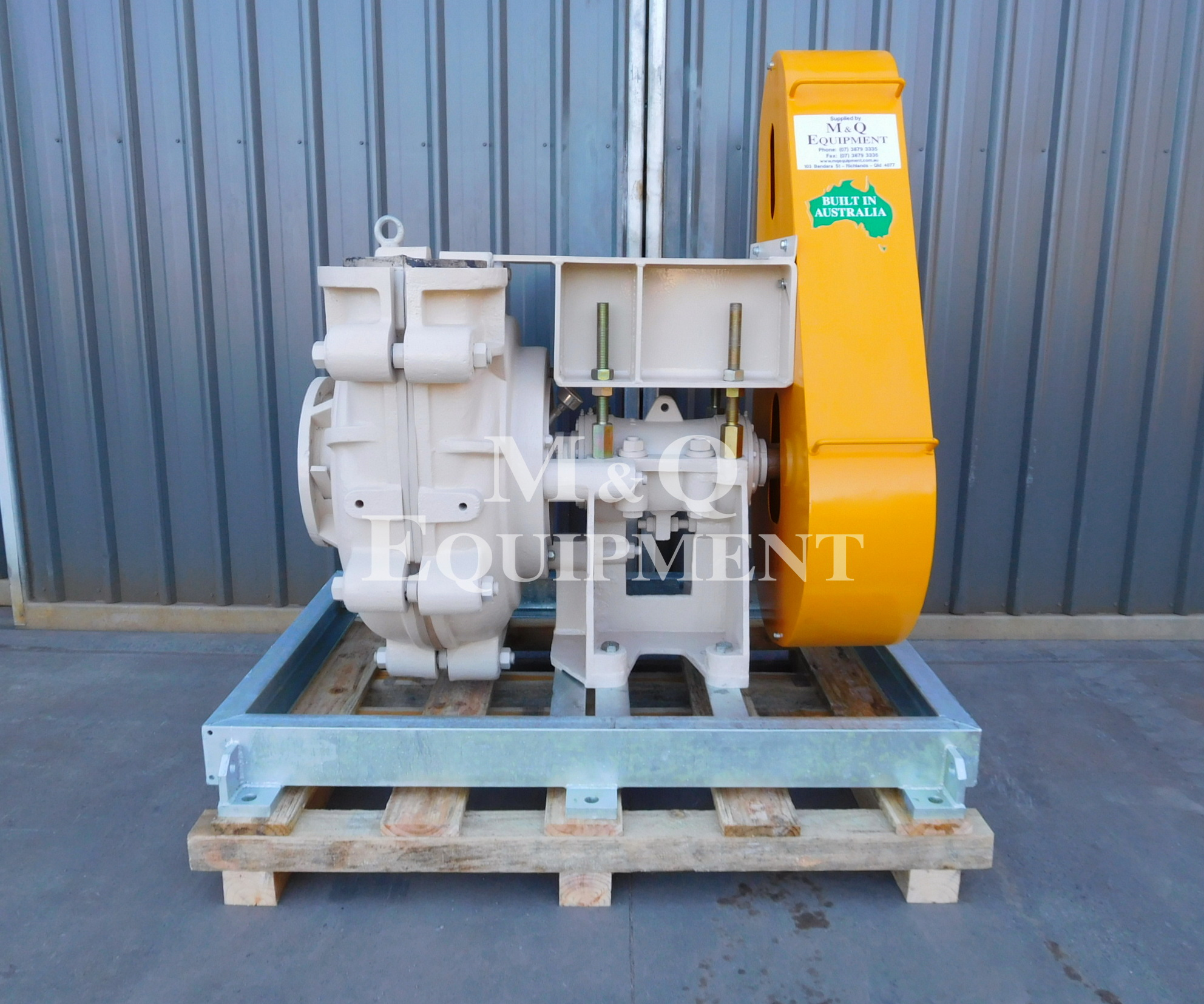 Sold Item 485 - New 8/6 EAH Austral Pump