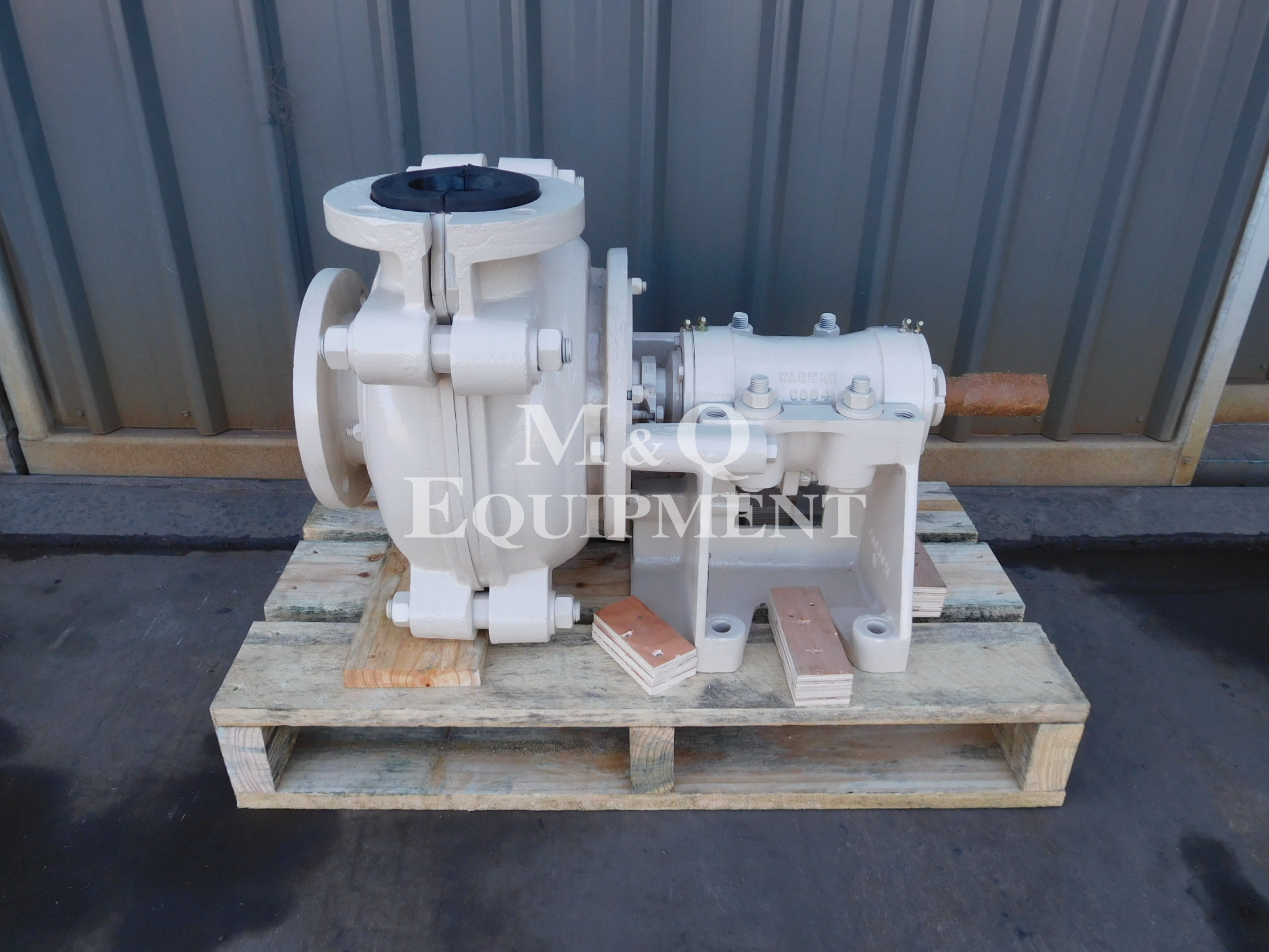 Sold Item 483 - Rebuilt 4/3 CAH Warman Pump