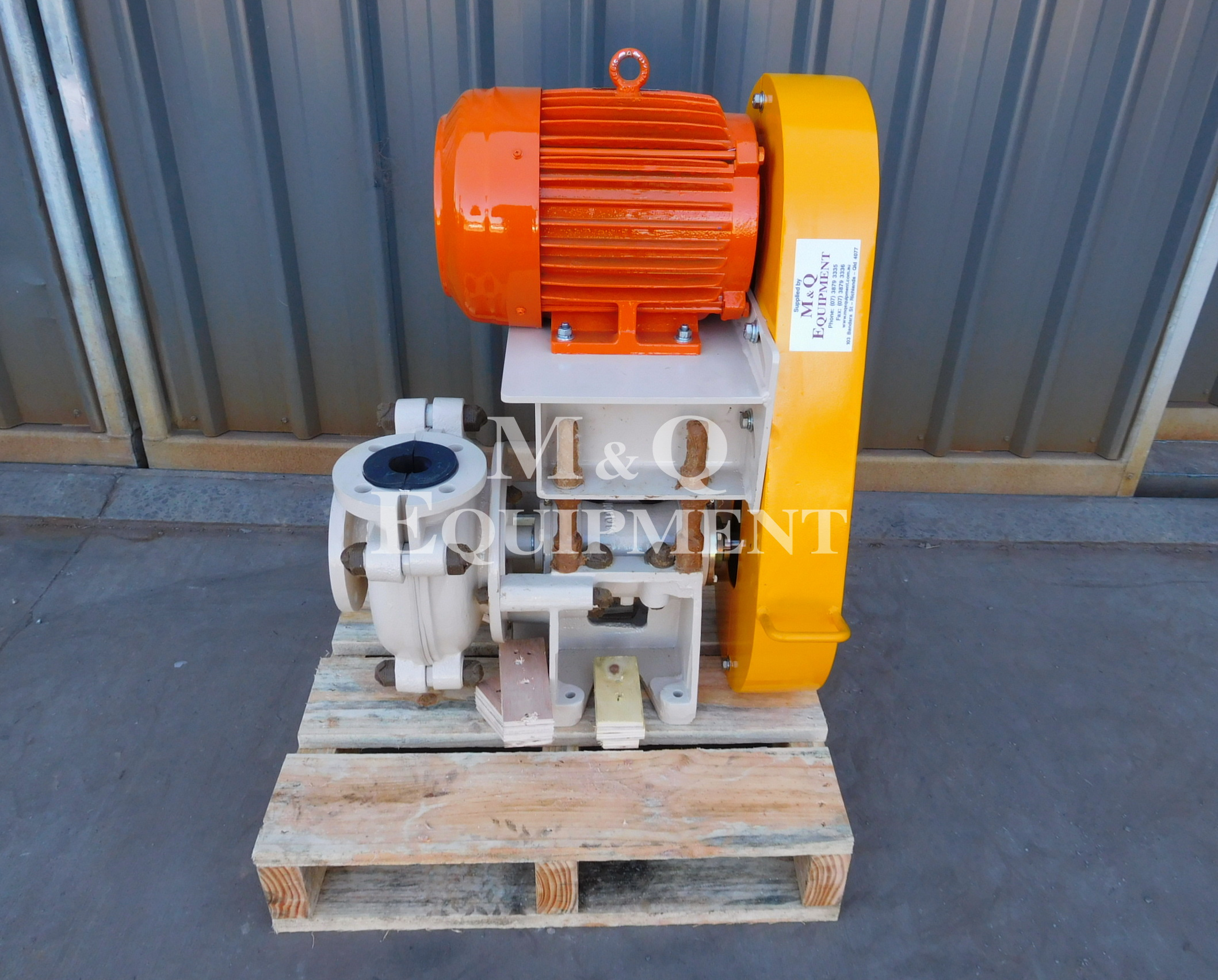 Sold Item 482 - New 2 x 1 1/2 BAH Austral Pump