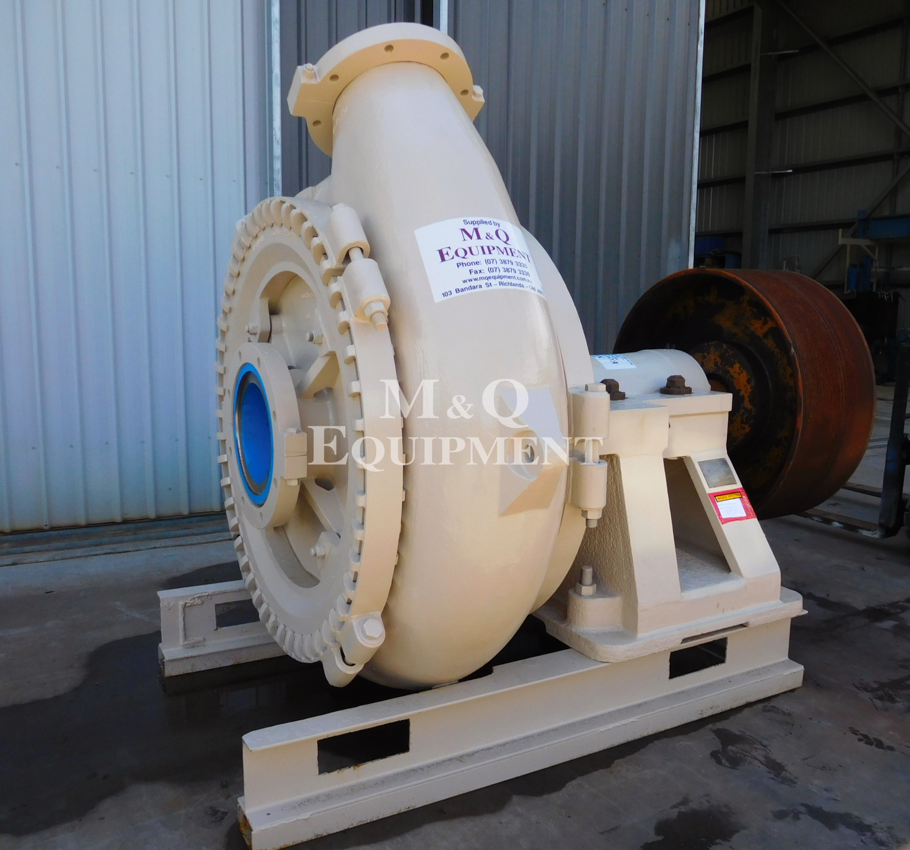 Sold Item 454 - Overhaul of Warman 12/10 GGH Pump
