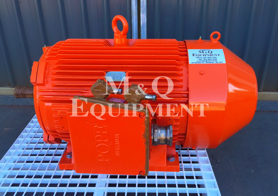 Sold Item 392 - 132 KW 2 Pole Pope Electric Motor