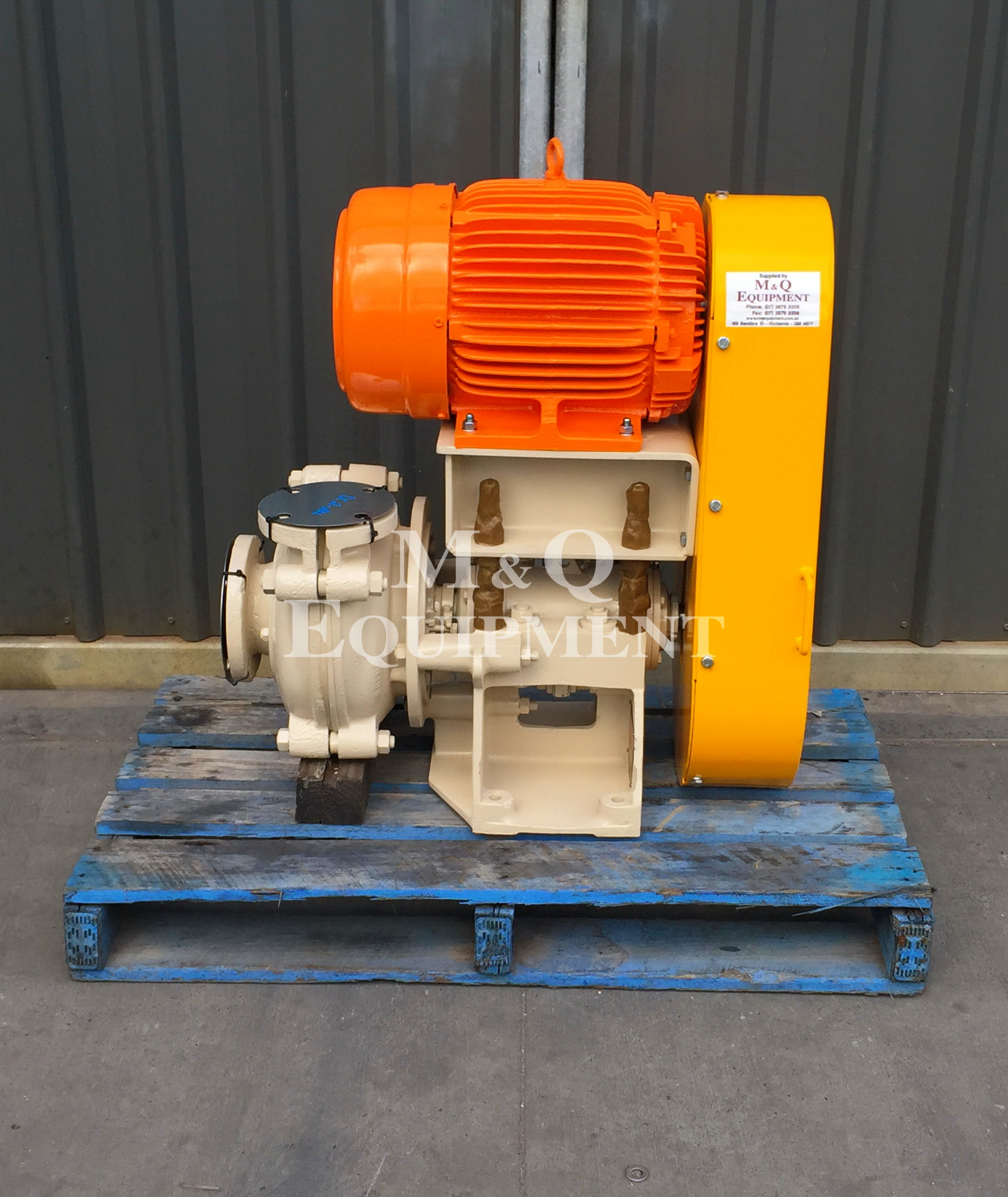 Sold Item 380 - 3/2 CAH Warman Pump (Rebuilt)