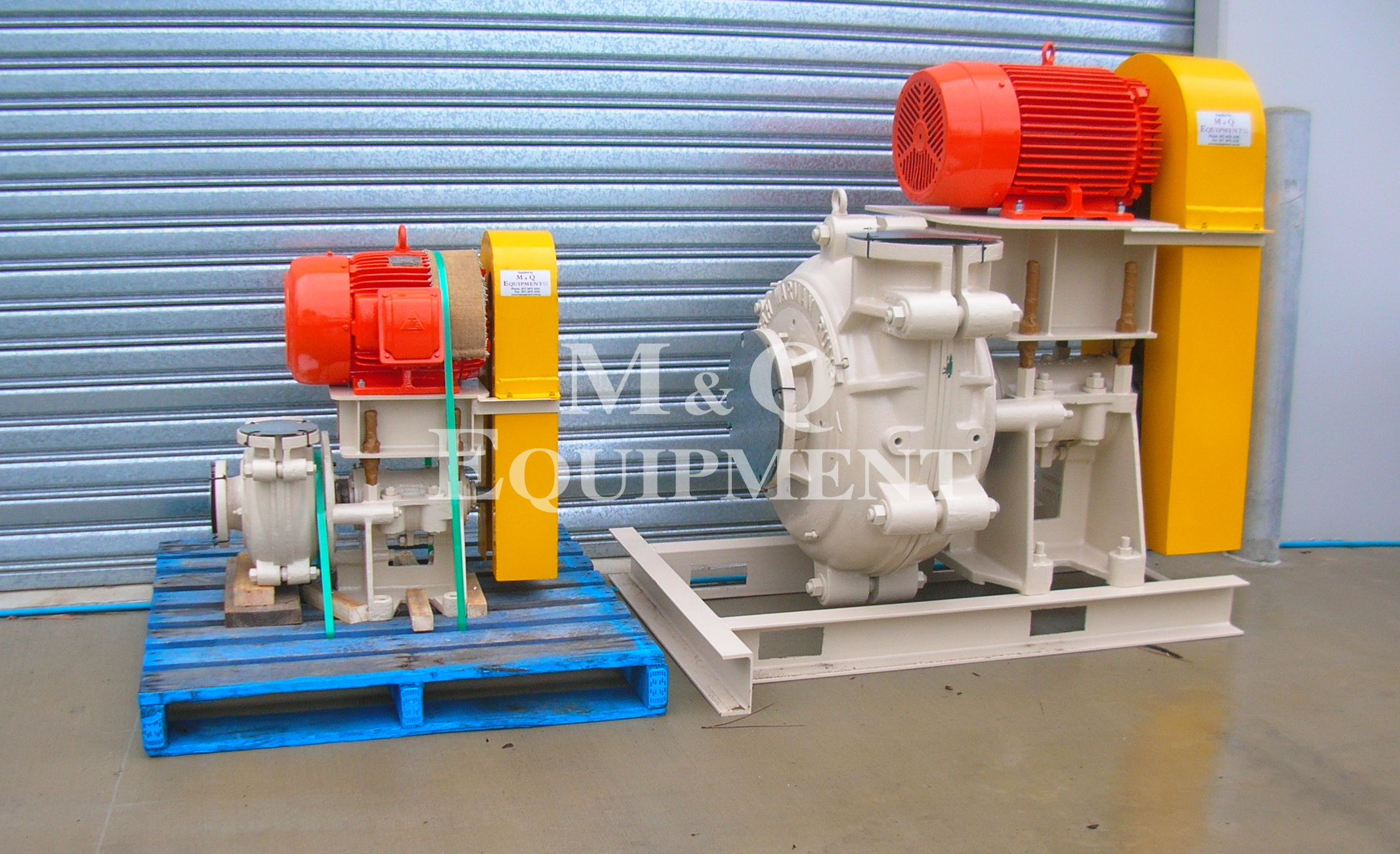 Sold Item 372 - Rebuilt Warman Pumps