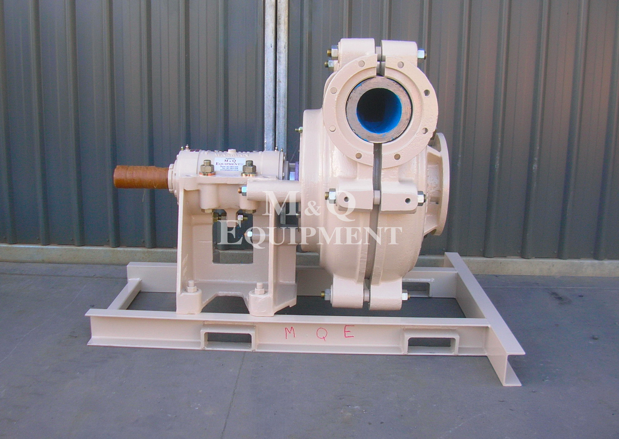 Sold Item 370 - 8/6 EAH Warman Pump (Rebuilt)