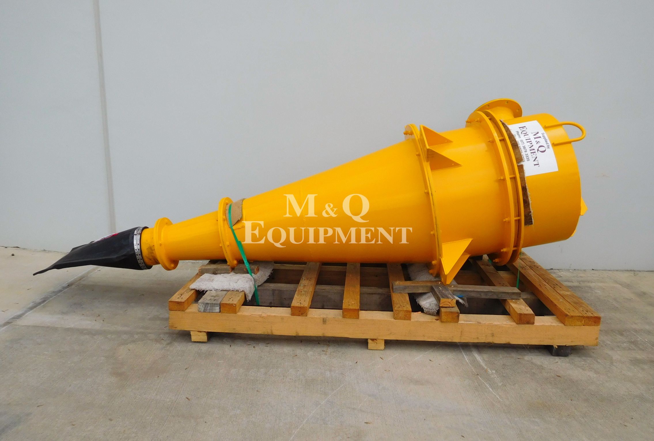 "Sold Item 423 - Rebuilt Linatex 27"" Cyclone"