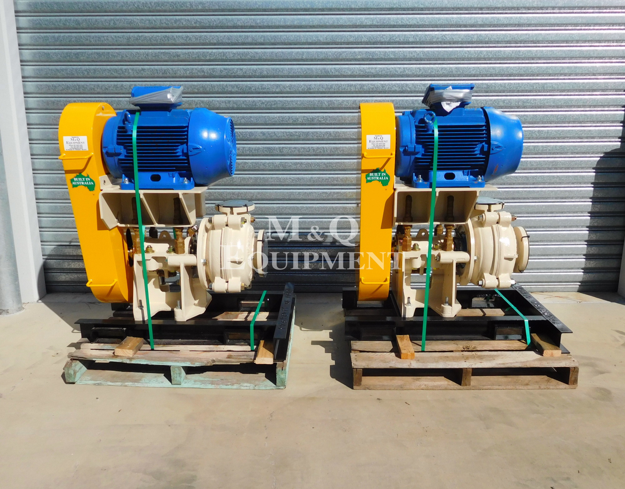 Sold Item 427 - 2 x Austral 4/3 DAH Pumps