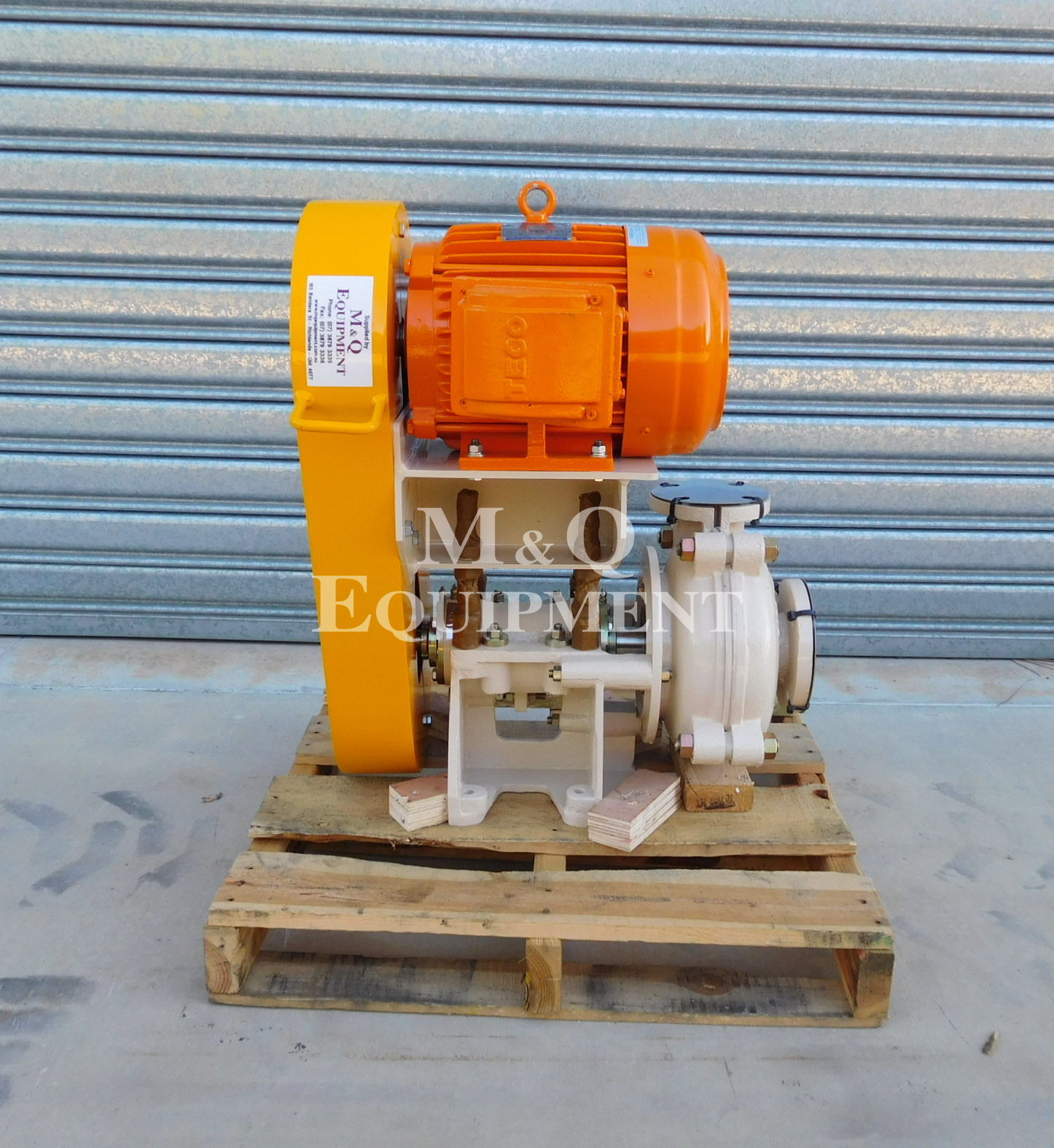 Sold Item 431 - New Austral 2 x 1 1/2 BAH Pump