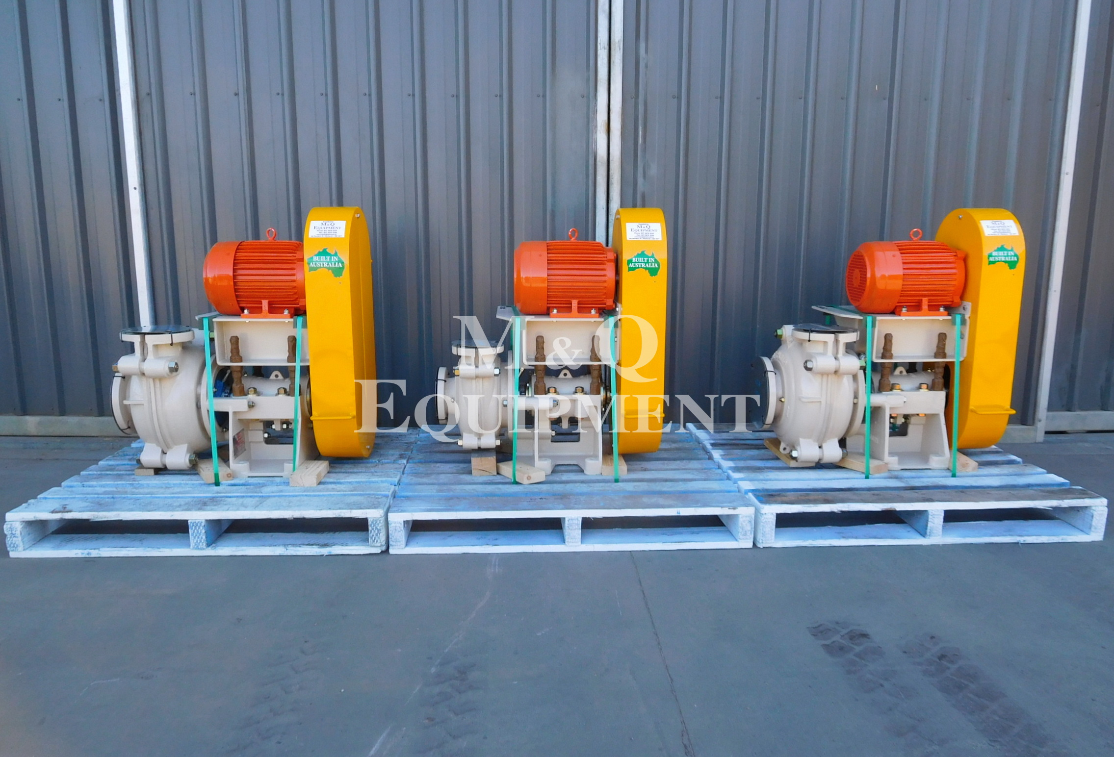 Sold Item 432 - New Austral Pump Sets