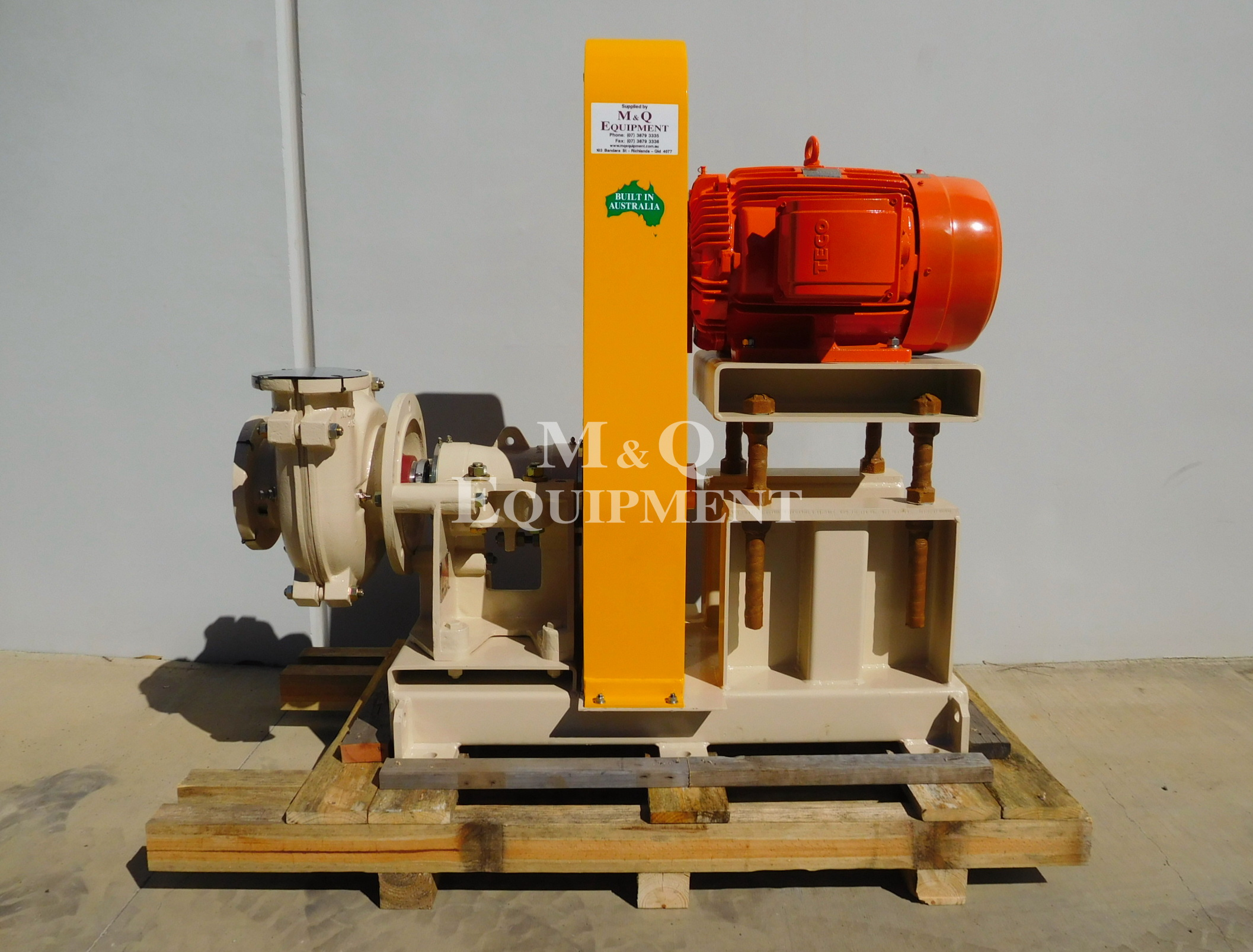 Sold Item 442 - Austral 6/4 DSC Sand Pump