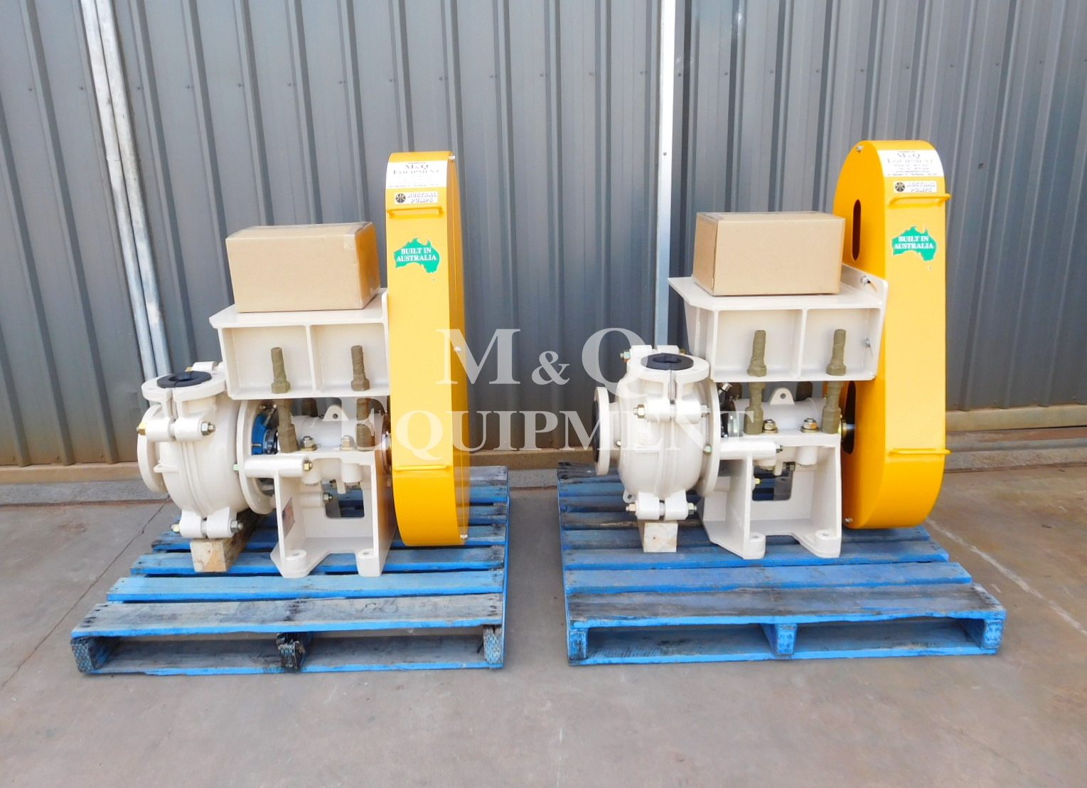 Sold Item 519 - New 4/3 DAH Austral Pump Sets