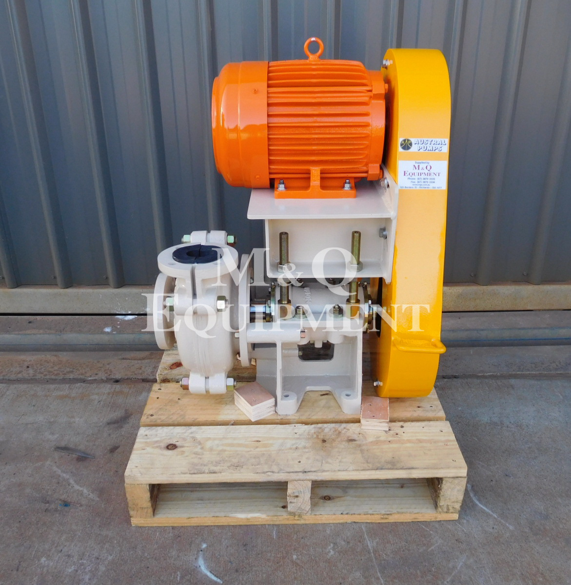 Sold Item 520 - New Austral 2 x 1 1/2 BAH Pump