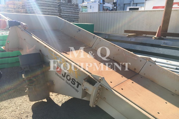 1200 x 4000 / Jost / Vibrating Feeder