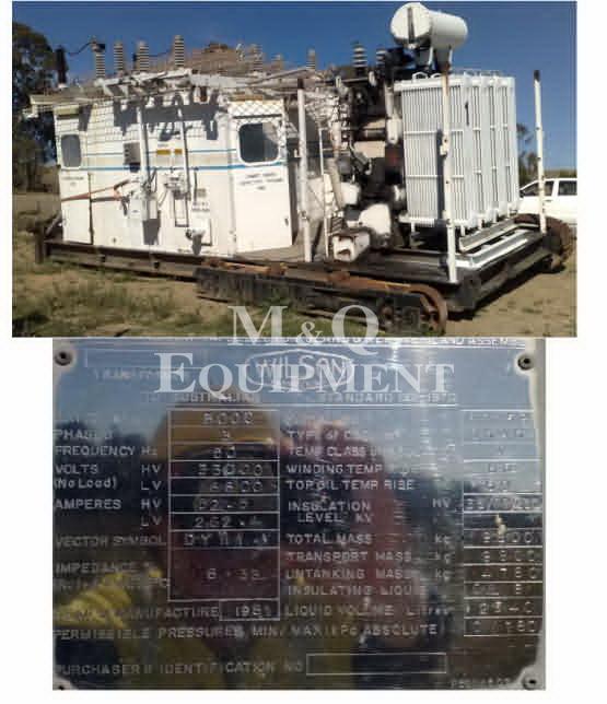 3000 KVA / Wilson / Transformer